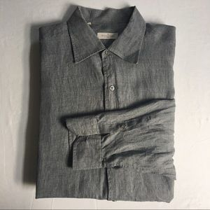 Ermenegildo Zegna Casual button down linen shirt
